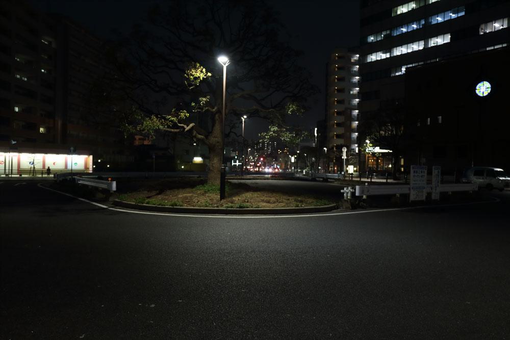 駅前ロータリーの謎スペース