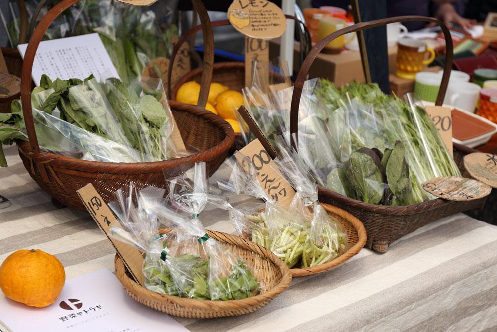 糸島のオーガニック野菜