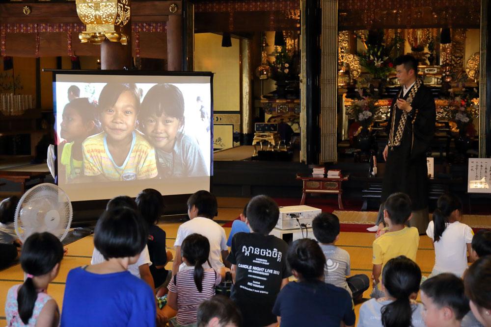 カンボジアの映像