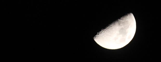 一眼レフでの月の撮影方法 (初級)