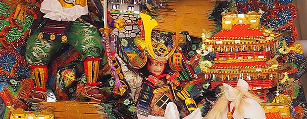 博多祇園山笠 今年の飾り山 2015