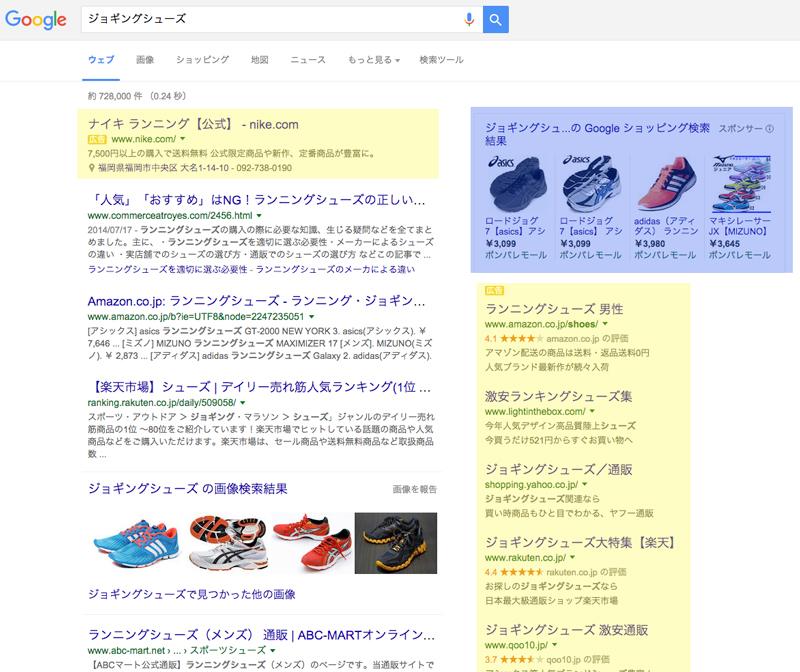 google 検索広告