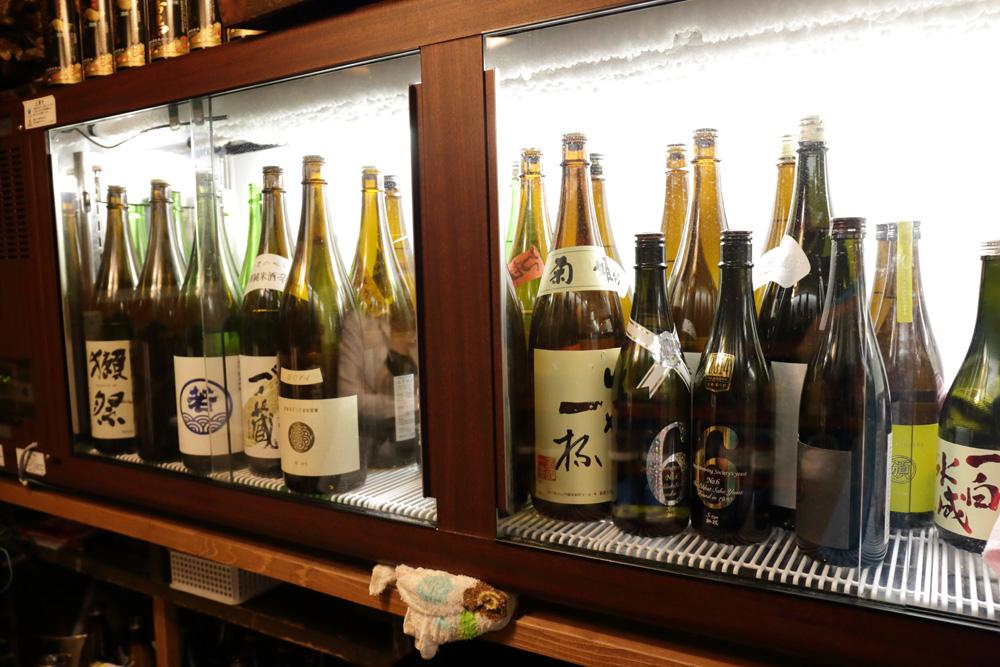 赤門屋の日本酒