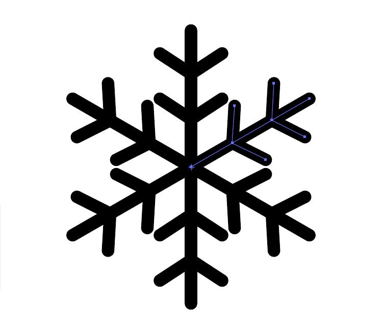 雪の結晶作り方11