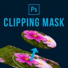 Photoshopクリッピングマスクの使い方【Photoshopのマスクまとめ前編】