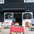 糸島にある北欧ヴィンテージ家具と雑貨のお店ハミングジョーさんの蚤の市に伺いました
