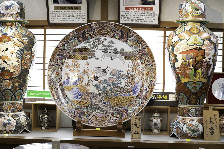 店内で一番高い有田焼のお皿
