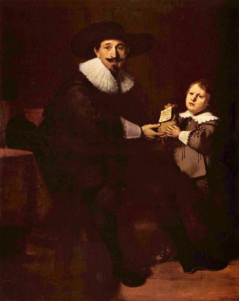 レンブラントの絵画