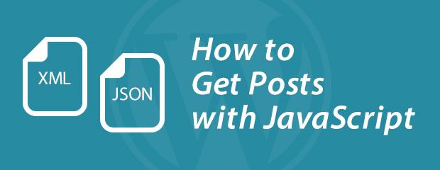 JavaScriptでWordPressからXML、JSONを取得する方法